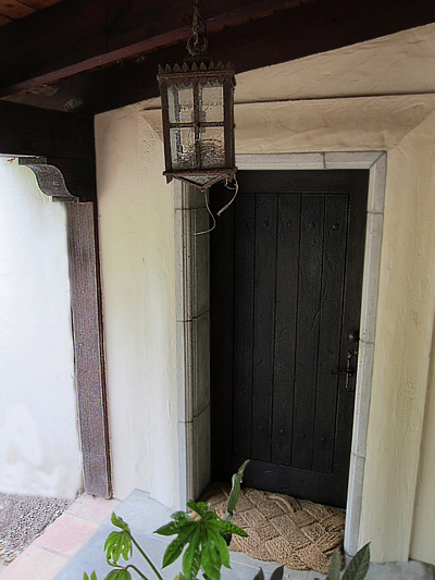 Spanish Colonial Revival Front Door entry photo