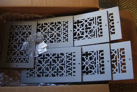 Decorative Grilles Vent Covers Cast Metal Register Hardware